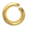 Jump Ring 3-36g Gold 3mm ID/5mm OD